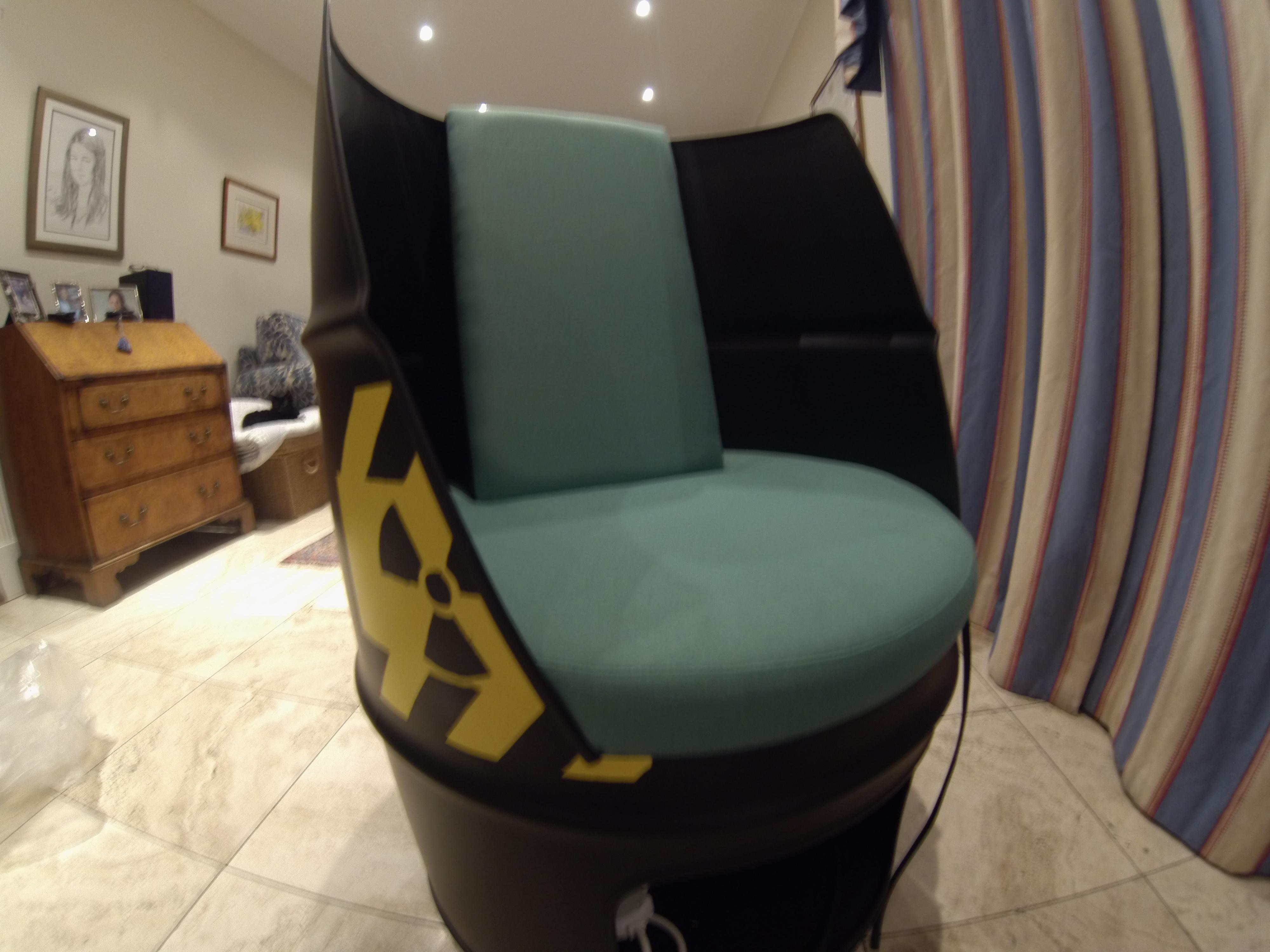 radioactive chair