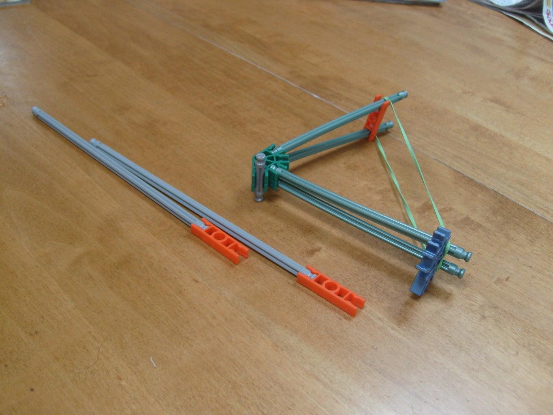 Make a Mini Double-Shot Knex Bow & Arrow
