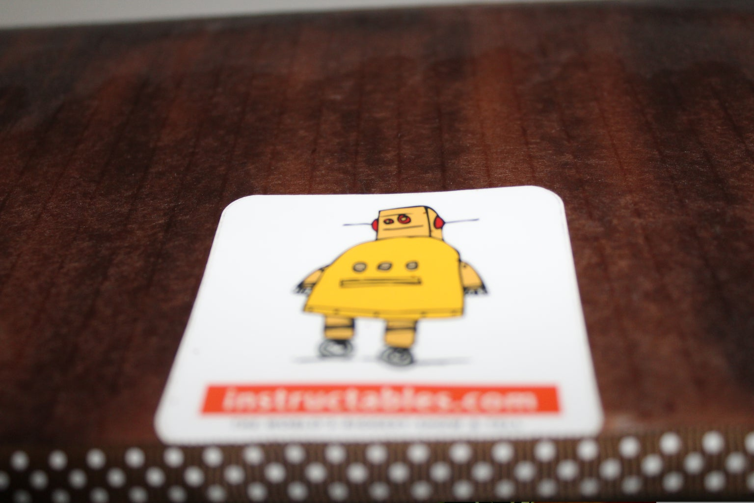 Put the Instructable Patch