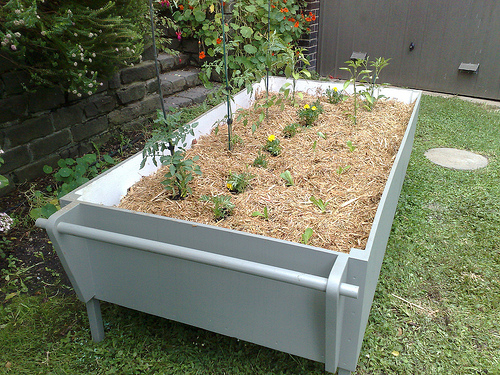 Mobile Veggie Garden
