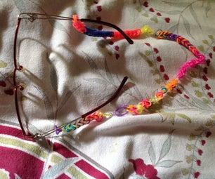 Loom Band Glasses Cord for Grandma