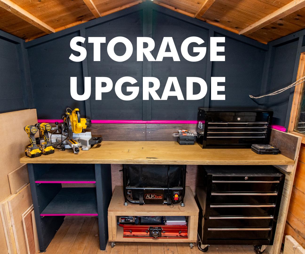 Upgrading My Workshop Storage