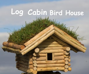 DIY Log Cata Bird House