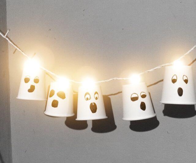 DIY : Halloween Paper Cups