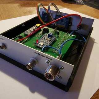 HF Antenna Analyser With Arduino and DDS Module