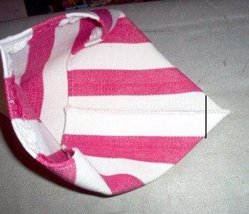 OPTIONAL- Make a Flat Bottom for the Bag