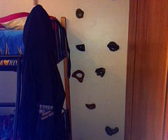 Get Rid of Ladders With Climbing Wall