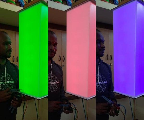 彩色喷射灯 - 巨型尺寸