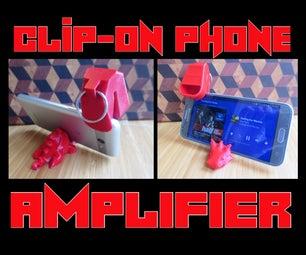 Pocket Amp! Near-Universal Clip-on Amplifier for Smartphones