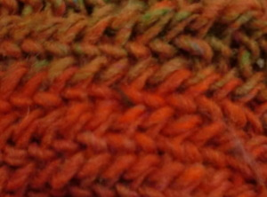Knit like a Viking! How to join rounds in nalbinding