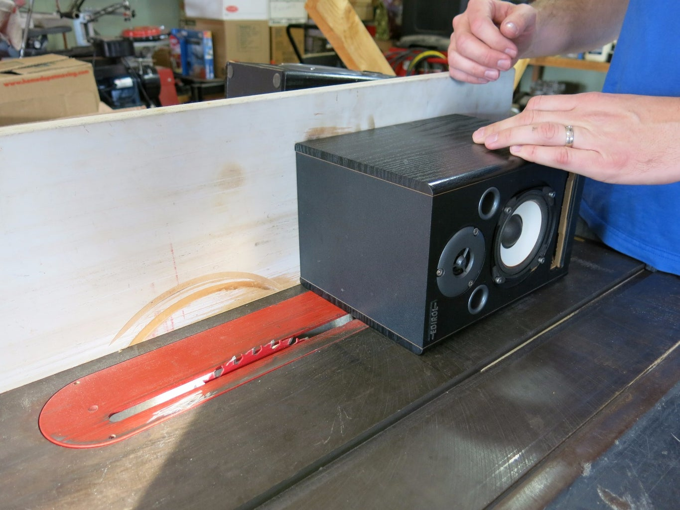 Cut Down Your Speaker Cabinets