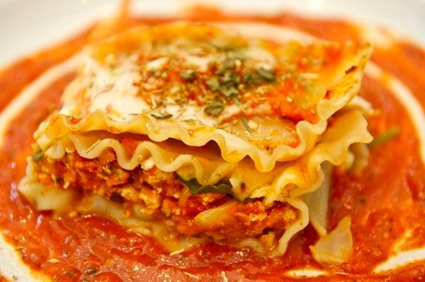 Healthy Chicken Lasagna