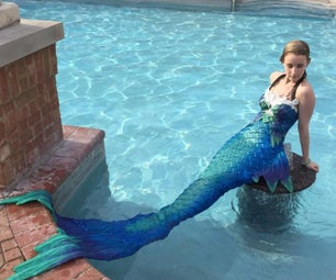 Silicone Mermaid Tail