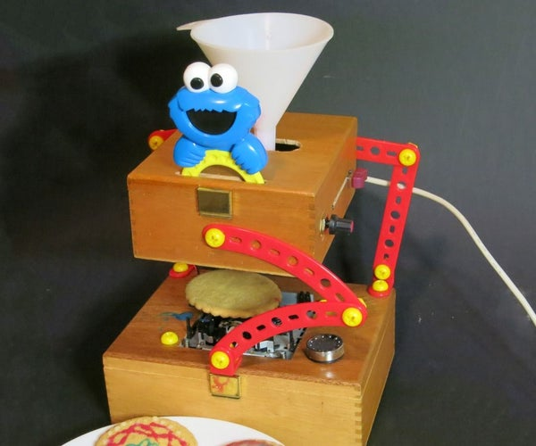 Cookie CNC Spirograph From Trash