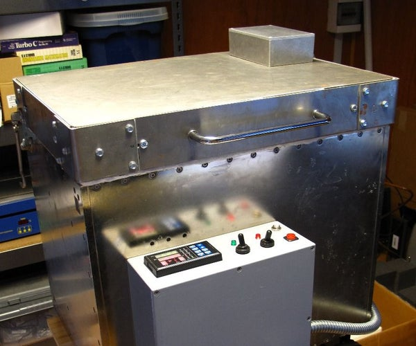 Home Made Electric Glass Fusing Kiln