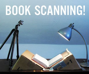 Bargain-Price Book Scanner From a Cardboard Box.