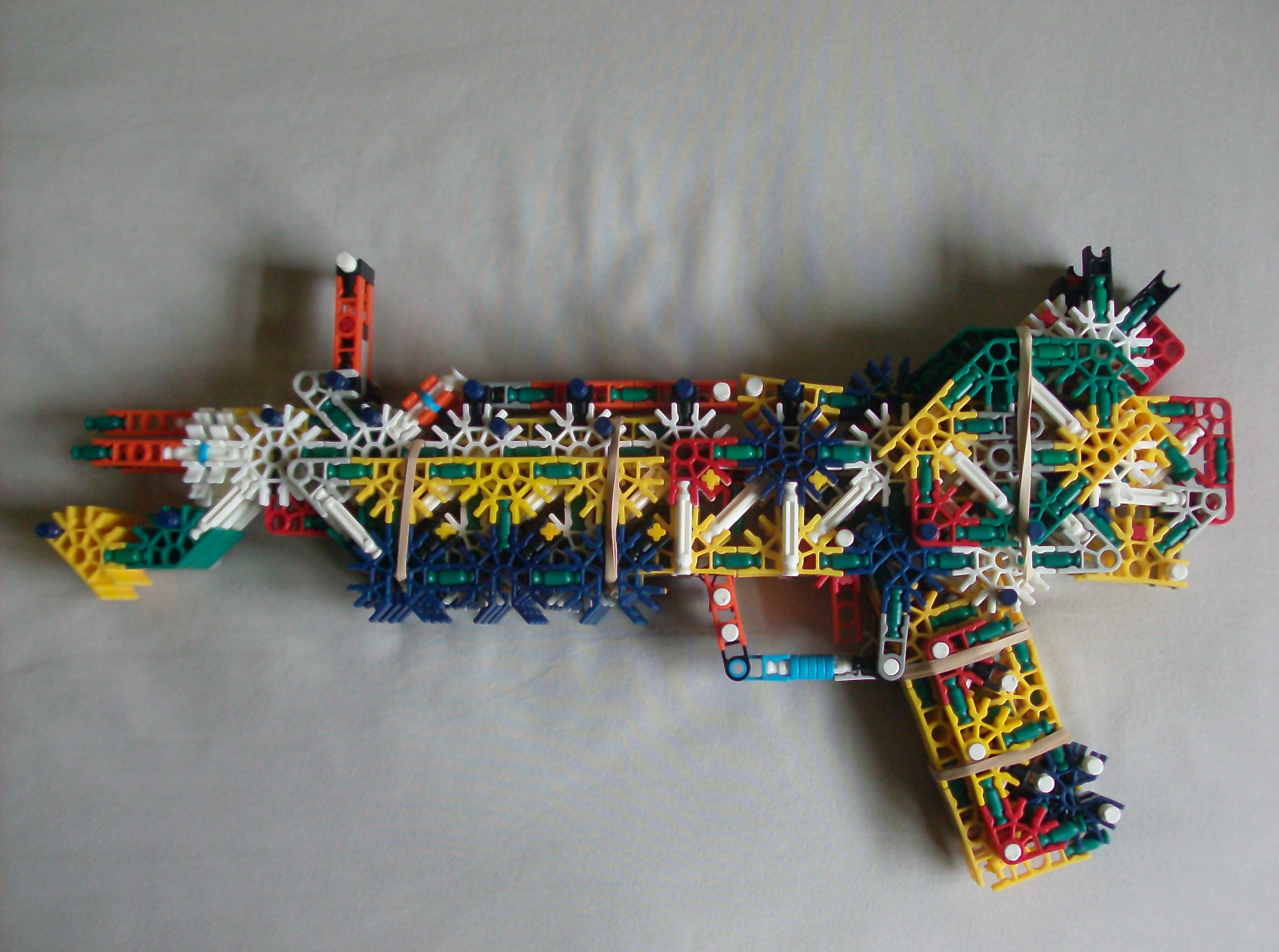 K'nex - Ray Gun Mark II Instructions