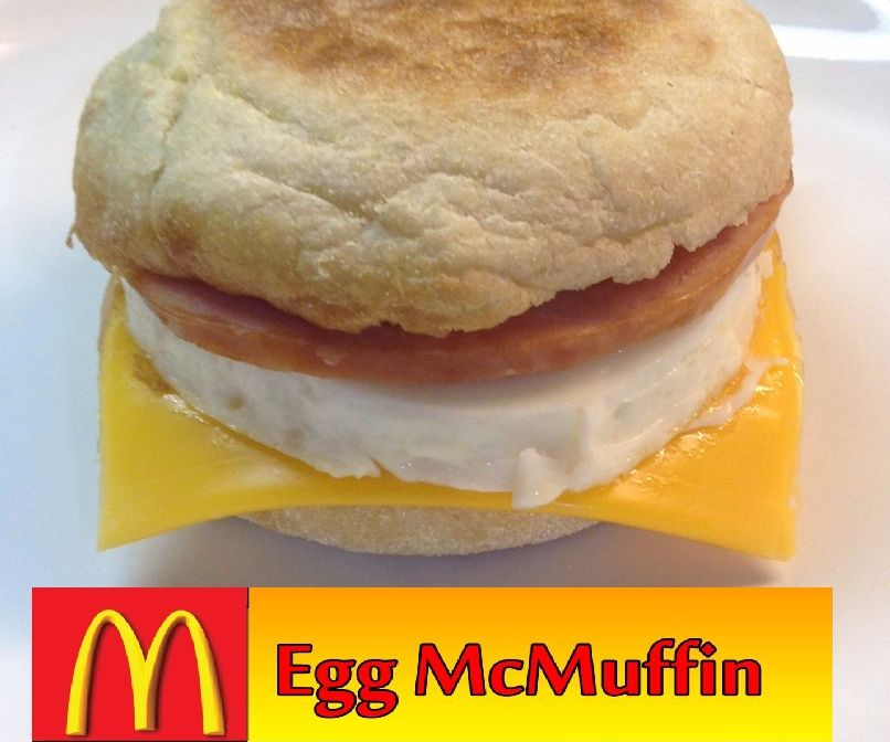 McDonald's Egg McMuffin (Copycat)