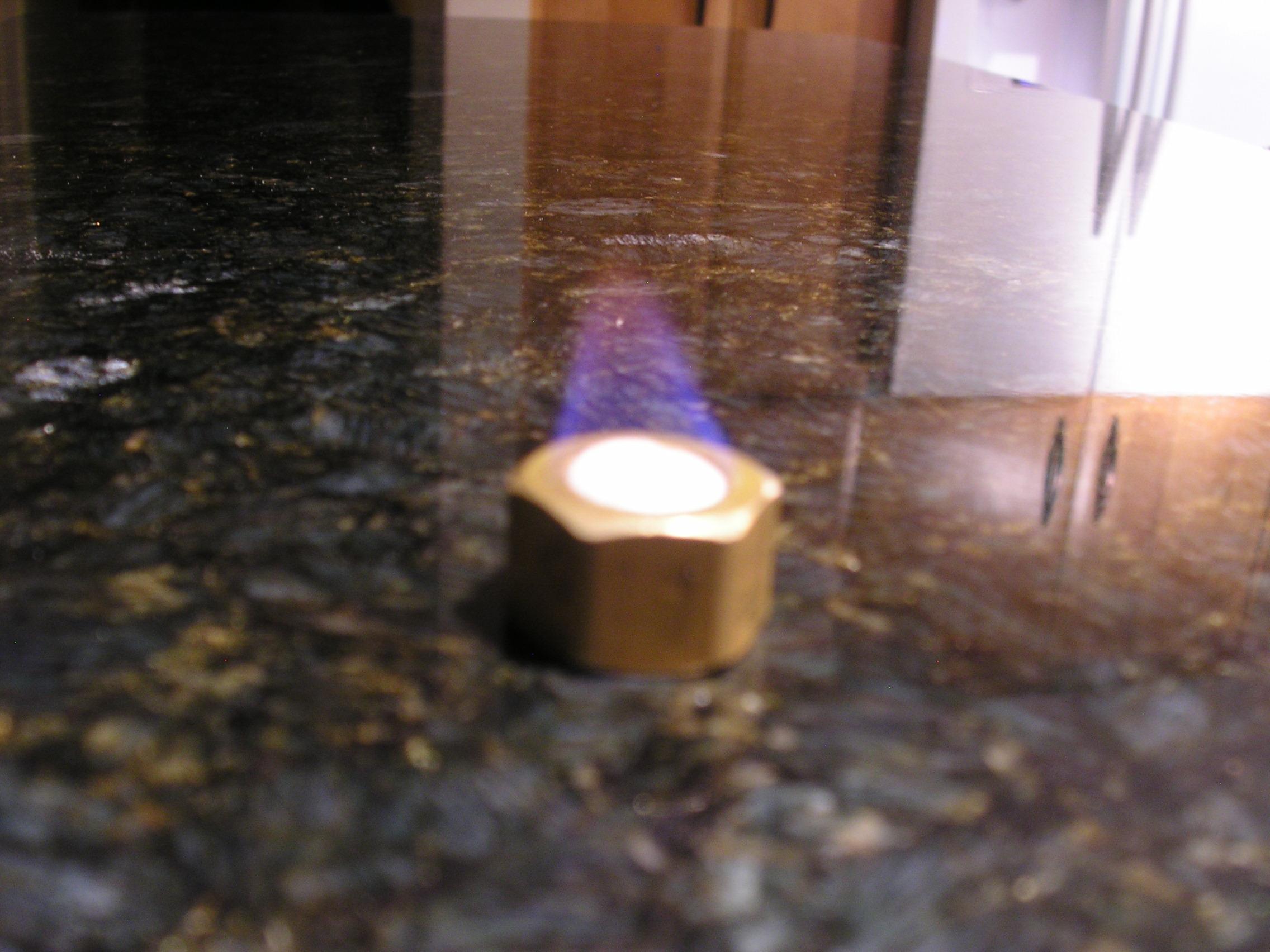 The Pocket bunsen burner