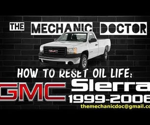 How to reset oil life: GMC Sierra 1999-2006