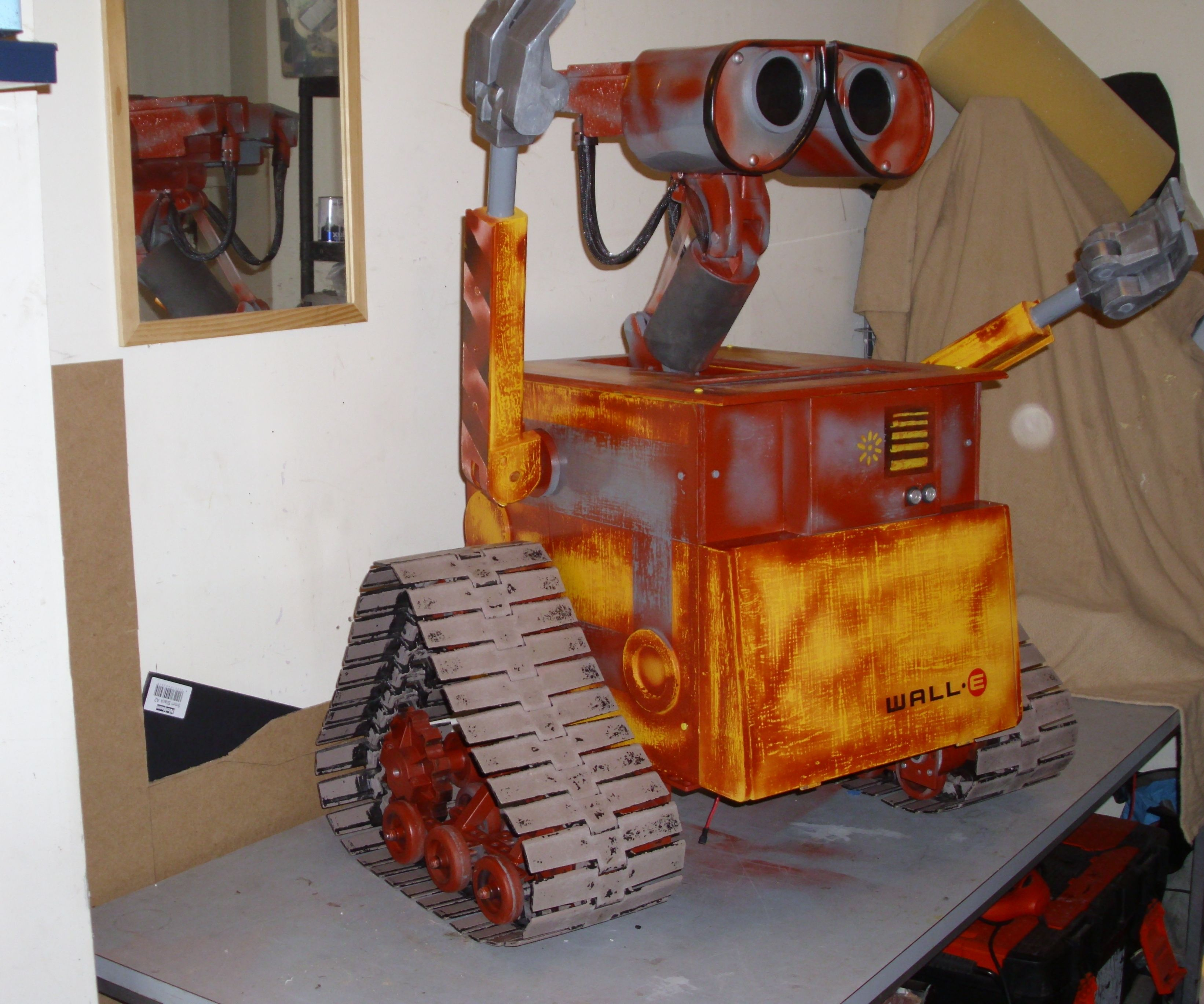 My own wall-e project distressed a bit now and looking great