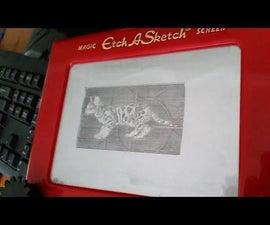 Motorized Etch-A-Sketch