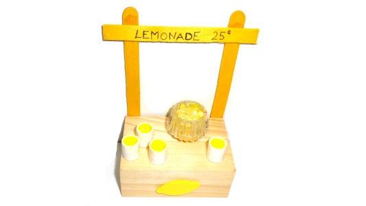 Miniature Lemonade Stand