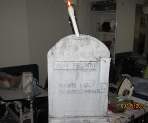 Floating Candle Tombstone