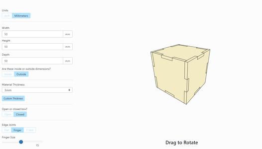 Prepare Box Structure - Corner Cubes