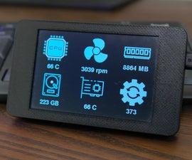 Bluetooth System Monitor Using ESP32 + TFT Screen