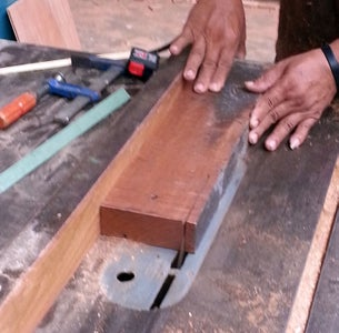 Cut the Wood, and Drill