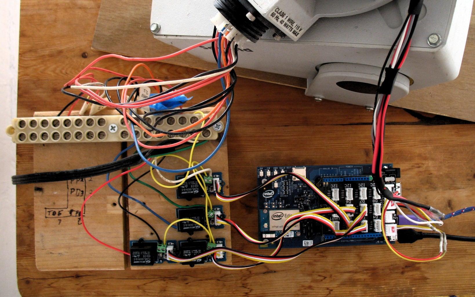 Mechanical and Electric Setup