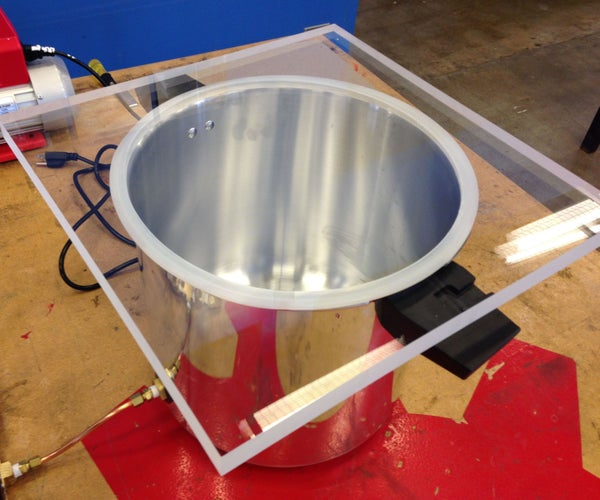 Pressure Cooker Vacuum Chamber