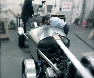 Autodesk TechShop Rallier Car