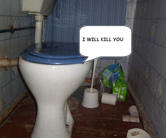 Spooky Toilet