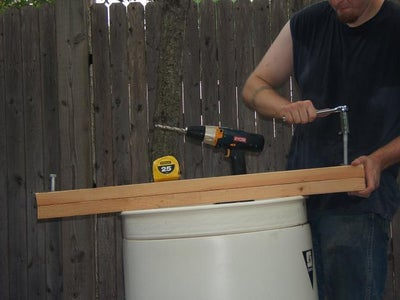 Building the Barrel Braces