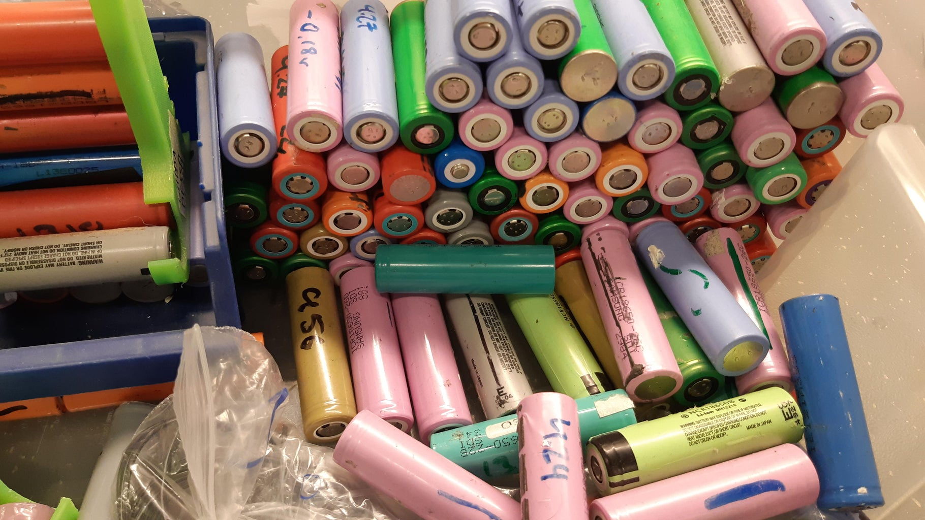 Sourcing 18650 Battery Cells
