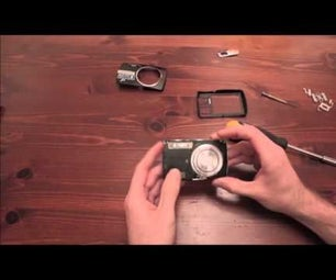 DIY Point and Shoot Infrared Camera