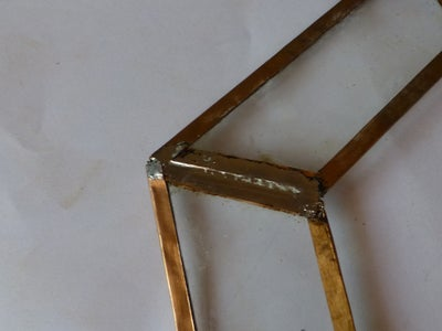 Solder the Trapezoidal Pieces Together