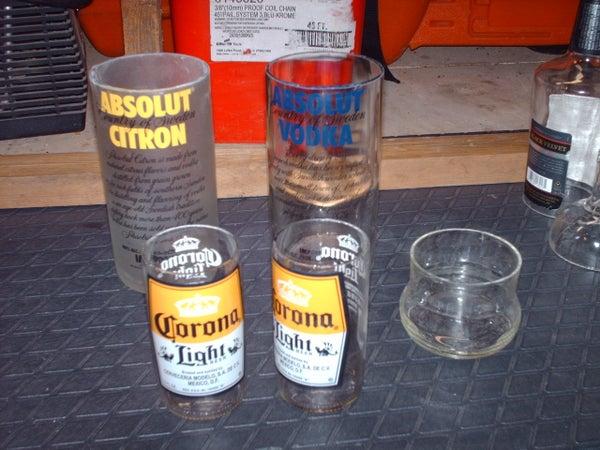 Cutting Glass Bottles