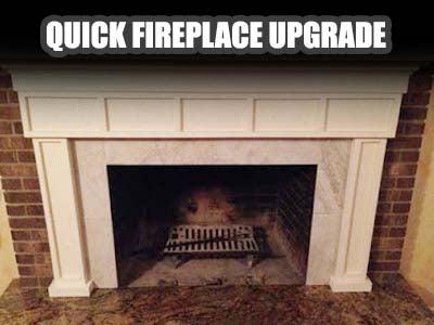 Quick Fireplace Upgrade