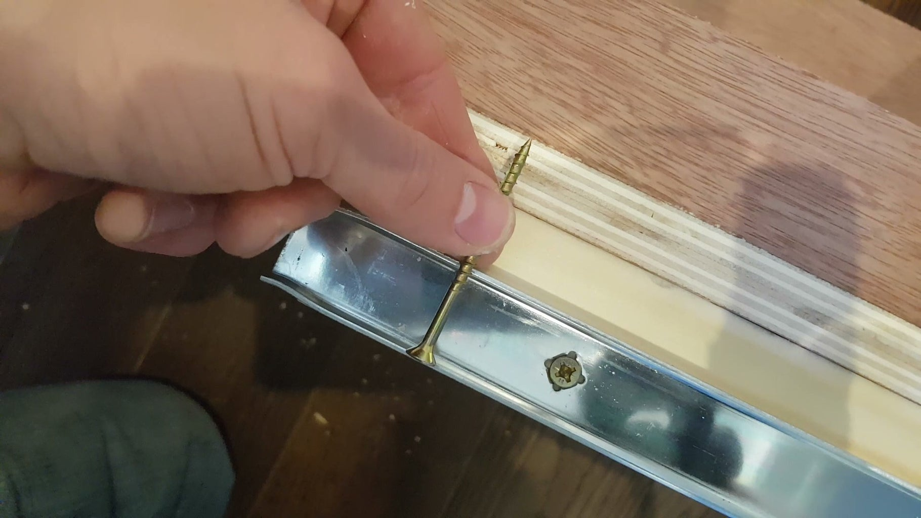 Fixing the Drawer Units Into Place