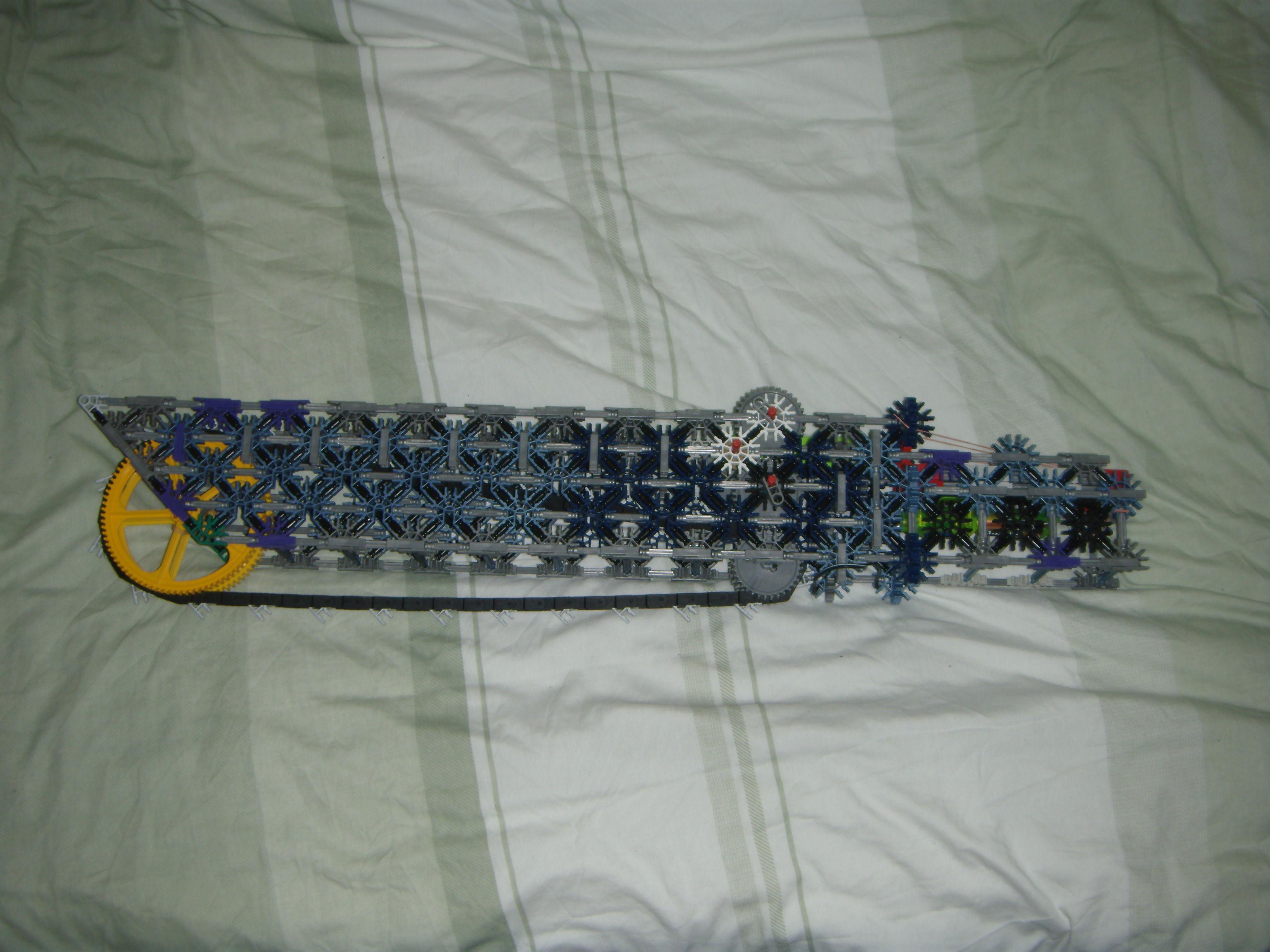 dawn of war based chain sword