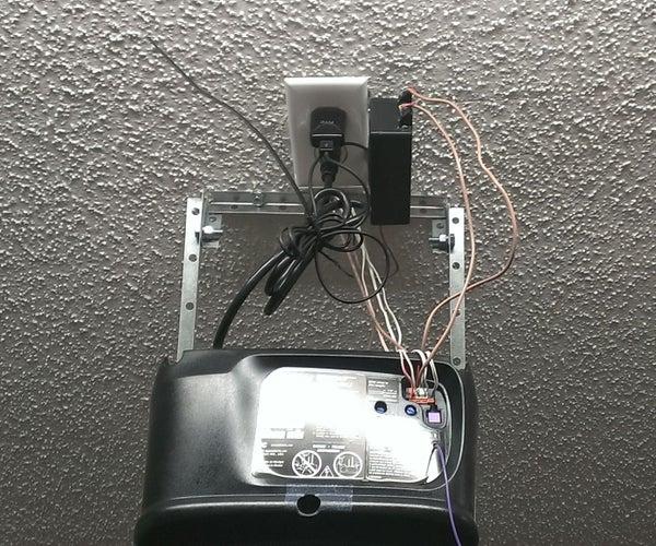 Bluetooth Garage Door Opener