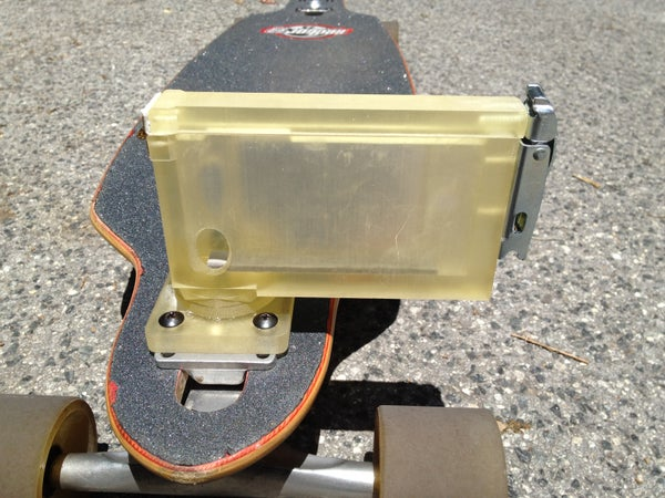 3D Printed IPhone Skateboard Mount for Recording Video