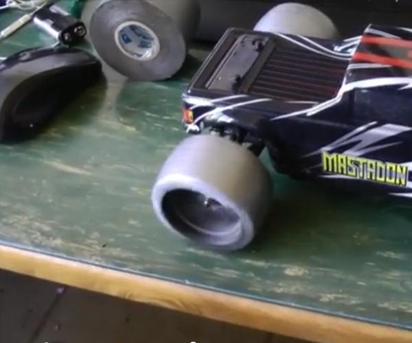 Convert Rc Buggy to Drift Car