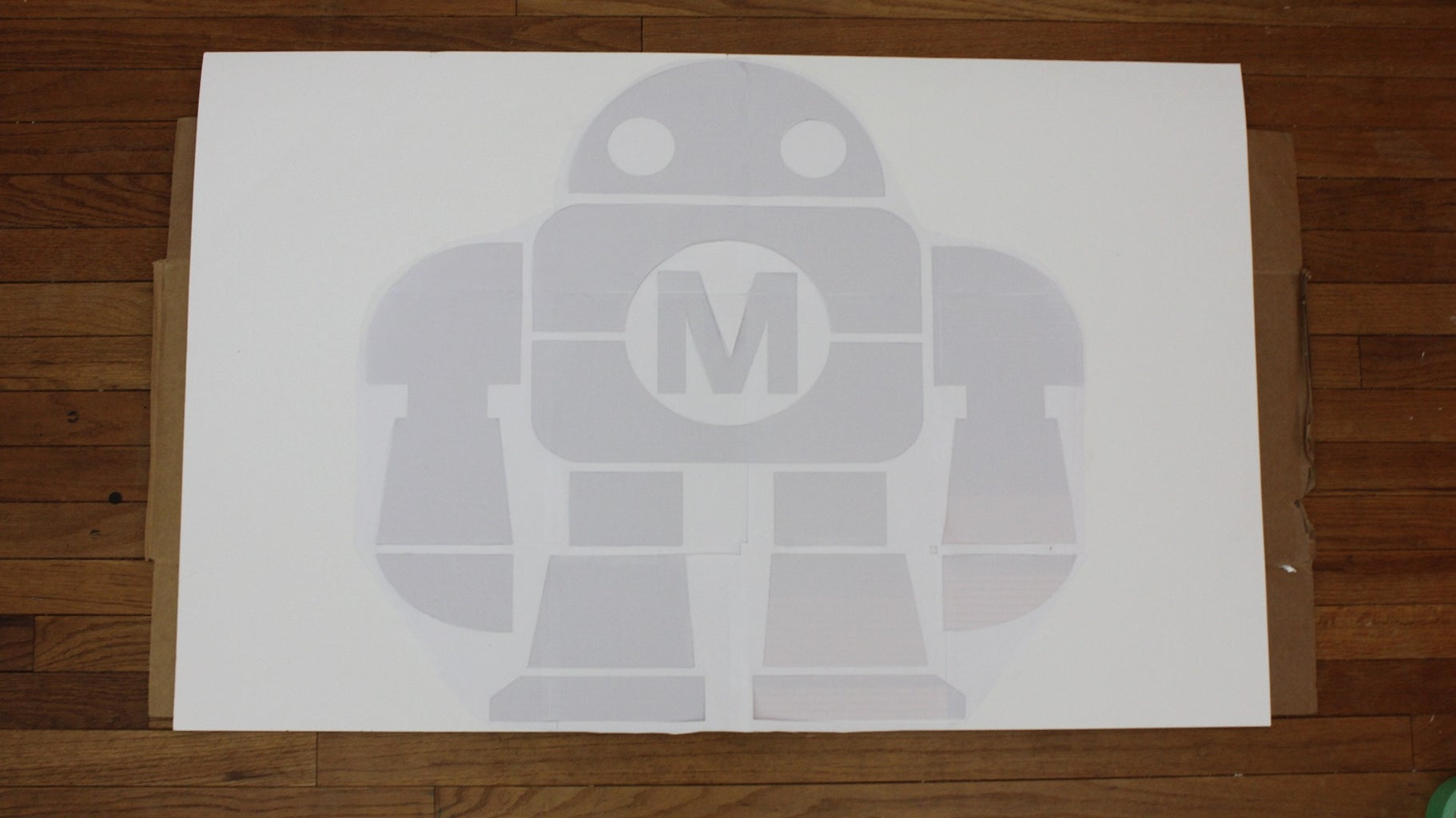 Make a Stencil From a Printed Out Picture