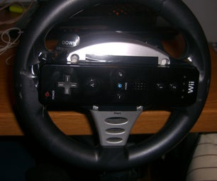 Transform a Ps2 Steering Wheel Into a Wii Steering Wheel