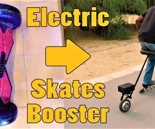 HoverBoard to Roller Skate Electric Booster