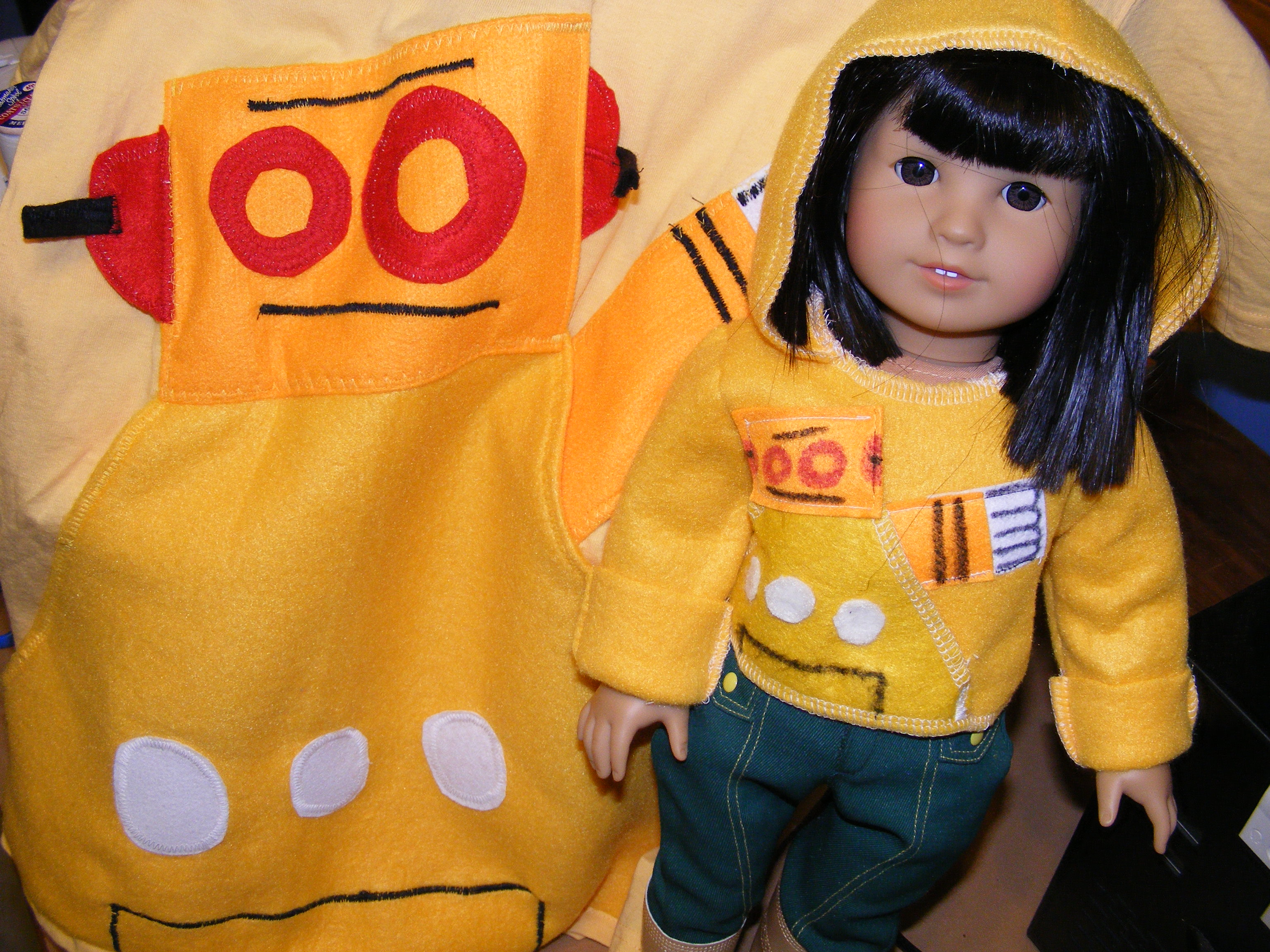 Robohoodie for American Girl Dolls